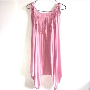 River Island Pink Beach Dress/ Cover up
